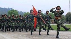 Chùm ảnh luyện tập diễu binh kỷ niệm 60 năm Chiến thắng Điện Biên Phủ