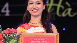 Nữ sinh Việt Đức đăng quang Hoa khôi Duyên dáng Hà thành
