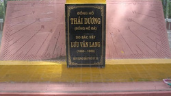 """Chiếc đồng hồ đá cổ """"độc nhất vô nhị"""" ở Việt Nam"""