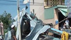 An Giang:  Dông và gió xoáy làm hư hại hơn 170 căn nhà