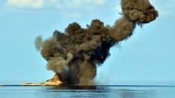 SU-30 Việt Nam thực hành ném bom trên biển