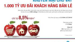 VietinBank dành 1.000 tỷ ưu đãi khách hàng bán lẻ