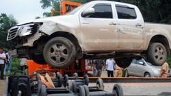 Truy lùng tài xế tông gãy răng cảnh sát Thanh Hóa