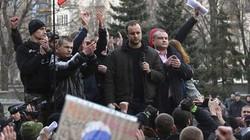 Tuyệt thực phản đối chính quyền Kiev tấn công Đông Ukraine