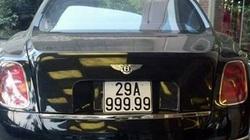 Nghi án siêu xe Benley 'mượn' biển đẹp 29A-999.99
