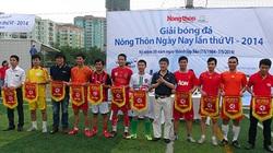 Khai mạc giải bóng đá báo Nông Thôn Ngày Nay lần thứ VI