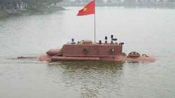 Tàu ngầm Trường Sa bị cấm thử nghiệm ở biển Thái Bình