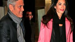 Tài tử George Clooney đính hôn với bạn gái xinh đẹp