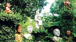 """""""Vườn Bụt"""" thơ mộng của cặp nghệ sĩ già"""