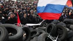 Thành phố Slavyansk, Đông Ukraine rục rịch trưng cầu dân ý
