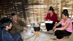 """""""Cây cột trụ"""" của người Mông ở Nà Un Trong"""