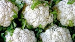 Bí quyết giúp bông cải trắng đẹp, không ngả vàng
