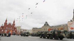 Ngày 3.5: 69 máy bay chiến đấu duyệt binh trên Quảng trường Đỏ