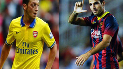 Ozil và Fabregas đổi chỗ cho nhau?
