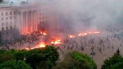 Xung đột, nổ súng ở Odessa: 38 người thiệt mạng