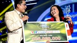 Ngân Quỳnh giành giải thưởng 100 triệu đồng