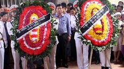 Bộ trưởng Thăng tới dự đám tang CSGT bị tai nạn