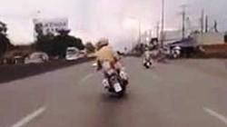 """Vụ CSGT dùng xe công vụ lạng lách, đánh võng như """"tổ lái"""": Để bảo vệ đoàn đua!"""
