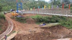 Điện Biên: Khánh thành cầu treo nơi chui túi nylon qua suối