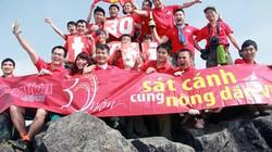 Clip: Chinh phục Fansipan chào mừng 30 năm báo NTNN