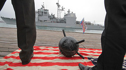 """Mỹ tăng viện tàu chiến """"hàng khủng"""" đến Biển Đen"""