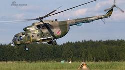 Cận cảnh trực thăng Nga Mi-8T lần đầu phóng mìn sát thương