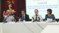 Hội Luật gia VN ra tuyên bố về việc Trung Quốc đặt giàn khoan trái phép