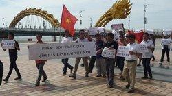 Đà Nẵng: Người dân diễu hành phản đối Trung Quốc