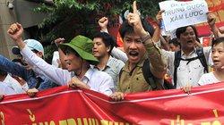Tuần hành phản đối Trung Quốc: Người dân thủ đô đồng lòng hướng về Biển Đông