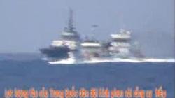 Clip: Tàu Trung Quốc tấn công, ngăn cản tàu Cảnh sát biển Kiểm ngư Việt Nam