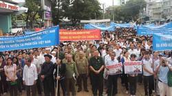 Cần Thơ: Mít tinh phản đối Trung Quốc xâm phạm chủ quyền ở Biển Đông