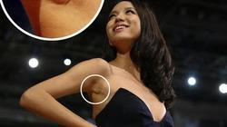 Hoa hậu Trương Tử Lâm bị nghi 'dao kéo' vòng một