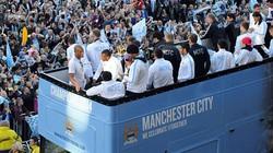 Chùm ảnh Man City diễu hành mừng chức vô địch
