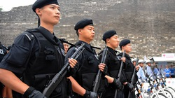 Trung Quốc tăng cường 150 xe bọc thép chống khủng bố ở Bắc Kinh