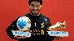 """Suarez hoàn tất """"poker"""" danh hiệu cá nhân"""