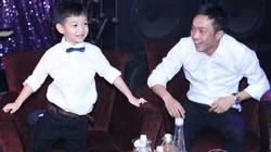 """Lần đầu Cường """"đô la"""" cùng con trai xuất hiện chúc mừng Hà Hồ"""