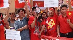 Người Việt ở Đài Loan biểu tình phản đối Trung Quốc