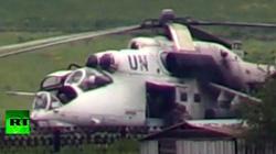Kiev sử dụng trực thăng Liên Hiệp Quốc trấn áp người biểu tình