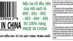 Rộ phong trào tẩy chay hàng Trung Quốc