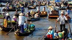 Chợ quê miền sông nước