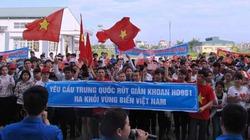 Hàng nghìn học sinh, sinh viên xứ Thanh phản đối hành động của Trung Quốc
