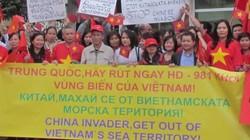 Cộng đồng người Việt ở Bulgaria míttinh phản đối Trung Quốc