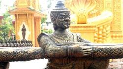 Ông Chằn, bà Chằn ở chùa Khmer Nam bộ