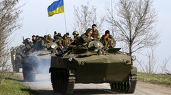 Quân đội Ukraine lại nổ súng bắn phóng viên Nga
