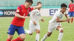 Sửng sốt nữ cầu thủ Hàn Quốc như... nam giới!