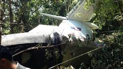 NÓNG: Những hình ảnh đầu tiên về hiện trường nơi máy bay không quân Lào rơi