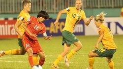 Đội hình B của ĐTVN thất bại trước ĐT nữ Australia