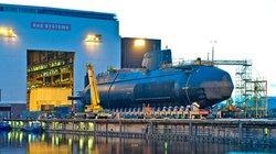 Siêu tàu ngầm trị giá 1,7 tỷ USD được hạ thủy