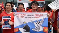 Khắp năm châu phản đối Trung Quốc gây hấn trên biển Đông