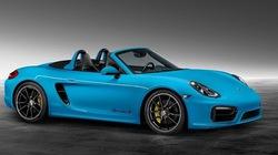 Porsche Boxster S nổi bật với màu xanh Rivera